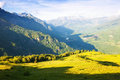 Mountains landscape pyrenees aragon from pass Royalty Free Stock Photos