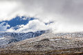 Mountains in snow - Australian Alps, New South Wales, Australia. Royalty Free Stock Photo