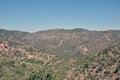 The mountains of troodos cyprus village kakopetria Stock Image