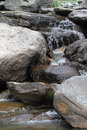 Mountian river of dharamsala in india Royalty Free Stock Images
