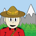 Mountie Photo stock