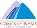 Mountine logo Royalty Free Stock Photos