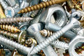 Mounting fasteners. Royalty Free Stock Photo