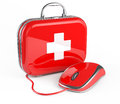Mouse And First Aid Kit