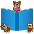 Mouse Story Book_eps Stock Images