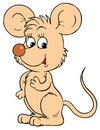 Mouse (vector clip-art) Royalty Free Stock Photos