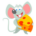 Mouse vector illustration of a Royalty Free Stock Images