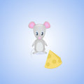 Mouse vector illustration of little Stock Photo