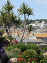 Mousehole Gardens Stock Photography