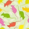 Mouses pattern seamless Zdjęcia Stock