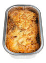 Moussaka Ready Meal Royalty Free Stock Photo