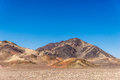 Moutain in the desert mountain range of peru Royalty Free Stock Photography
