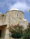 Moutallos mosque in the old town of paphos cyprus Stock Photography