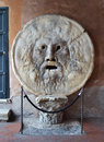 The mouth of truth in rome italy Royalty Free Stock Photography