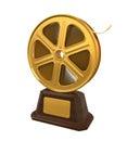 Movie Award Royalty Free Stock Photo