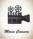 Movie Camera Royalty Free Stock Photo