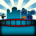 Movie festival Royalty Free Stock Images