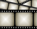 Movie film frame background Stock Photography
