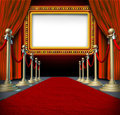 Movie Marquee Sign Stock Images