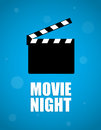 Movie night background