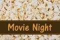 It is Movie Night Royalty Free Stock Photo