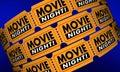 Movie Night Tickets Showtime Cinema Theater Film