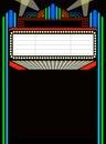Film / hrať stan / obdĺžnik ohraničujúci potlačiteľnú oblasť
