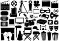Movie Related Elements Stock Photo