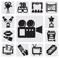 Movie set Stock Photography
