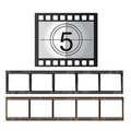 Movie tape Royalty Free Stock Images