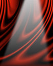Movie or theater curtain Royalty Free Stock Photo