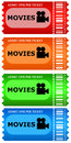 Movie tickets Royalty Free Stock Image