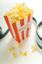 At the Movies Royalty Free Stock Photography