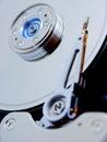 Movimentação do disco rígido do computador Imagens de Stock