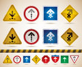 Moving directions Royalty Free Stock Photo