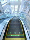Moving escalator Royalty Free Stock Images