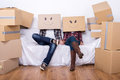Moving home Royalty Free Stock Photo