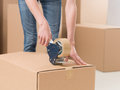 Moving house Royalty Free Stock Photo