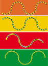 Moving Snake Illusion Royalty Free Stock Photo