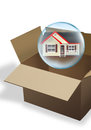 Moving your Home. Royalty Free Stock Images
