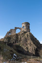 Mow cop staffordshire folly castle staffordhire near harriseahead on cheshire border Stock Images