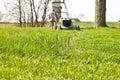 Mower Tall Grass