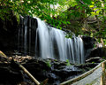 Mowhawk Falls; Benton, Pennsylvania Royalty Free Stock Photo