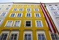 Mozart's Birth House Royalty Free Stock Photo