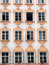 Mozart's house in Salzburg Royalty Free Stock Images