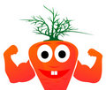 Mr. carrots Stock Image
