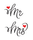 Mr and Mrs lovely designs