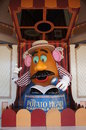 Mr Potato Head at California Adventure Royalty Free Stock Image