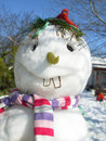 Mr.snowman Stock Image