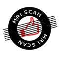 Mri Scan rubber stamp